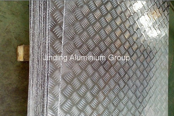 Bottom price for 1000 5-bar Aluminum Tread Plate to Brazil Manufacturers