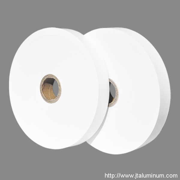 White Flexible Ducts PVC Tape
