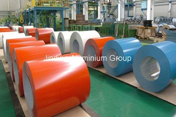 Cheapest Factory Polyester/PVDF Prepainted Aluminum Coil to Kenya Factory