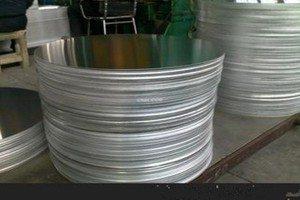 círculo de aluminio de cocina