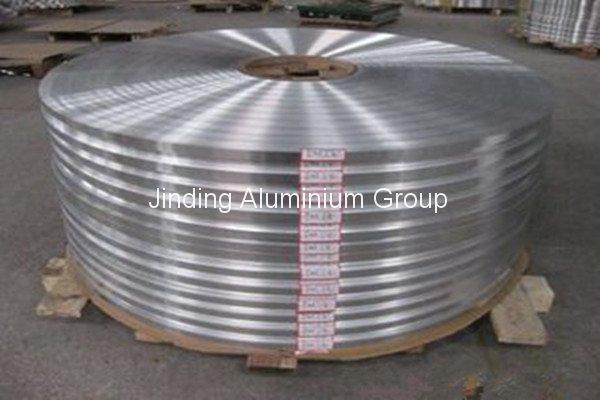 Slitted tira de aluminio